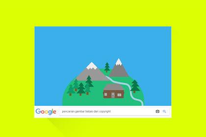 Cara mencari gambar yang bebas dari  copyright