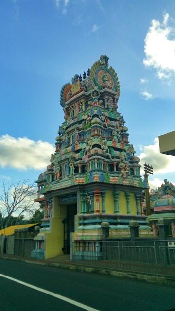 Templo Hindu en Mauricio