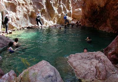 Hiking Las Vegas Gold Strike Hot Springs Update