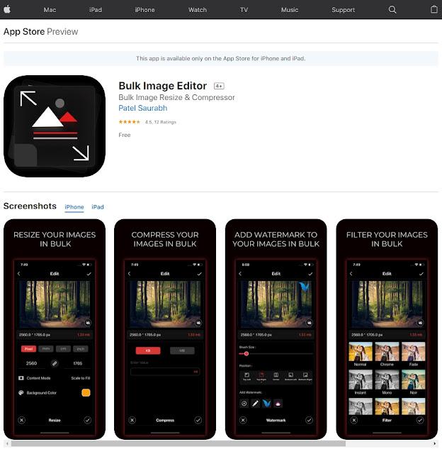 Bulk Image Editor