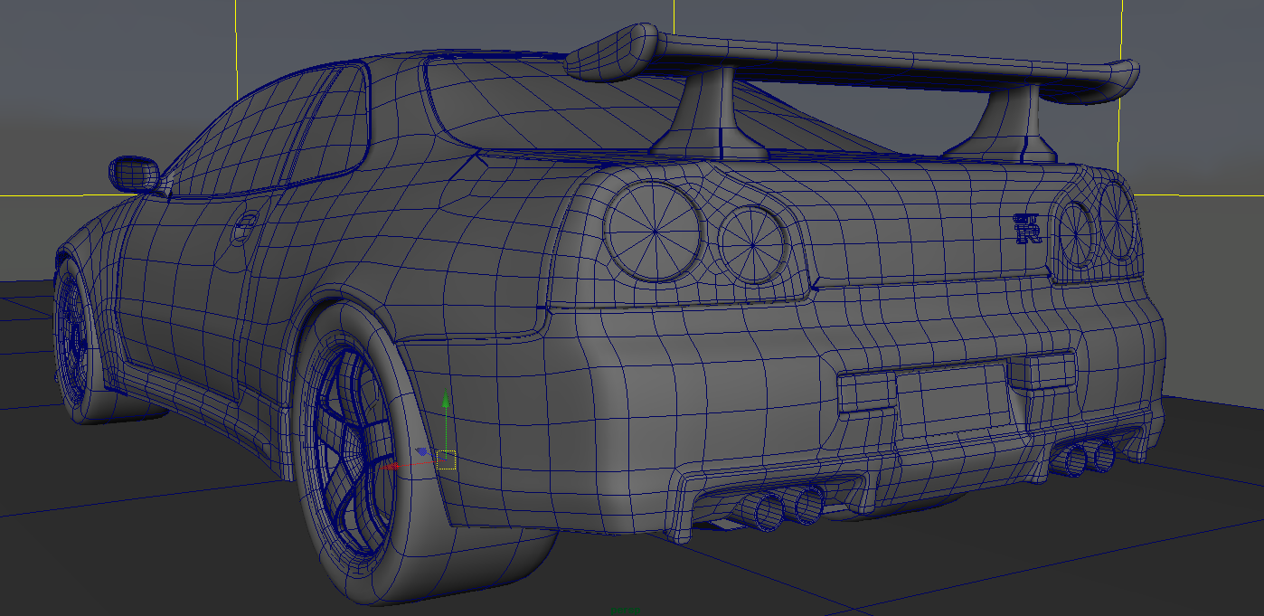 Car Modelling In Maya 3d Experimentsprojects