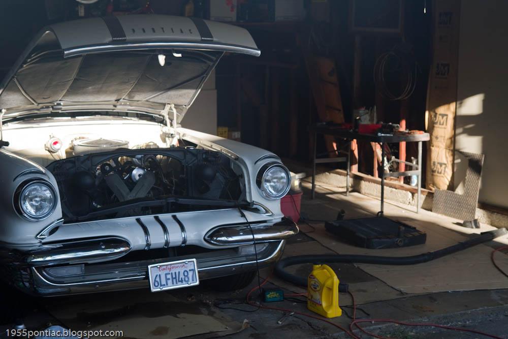 New Alternator Cost >> 1955 Pontiac Starchief Catalina: Radiator Removal