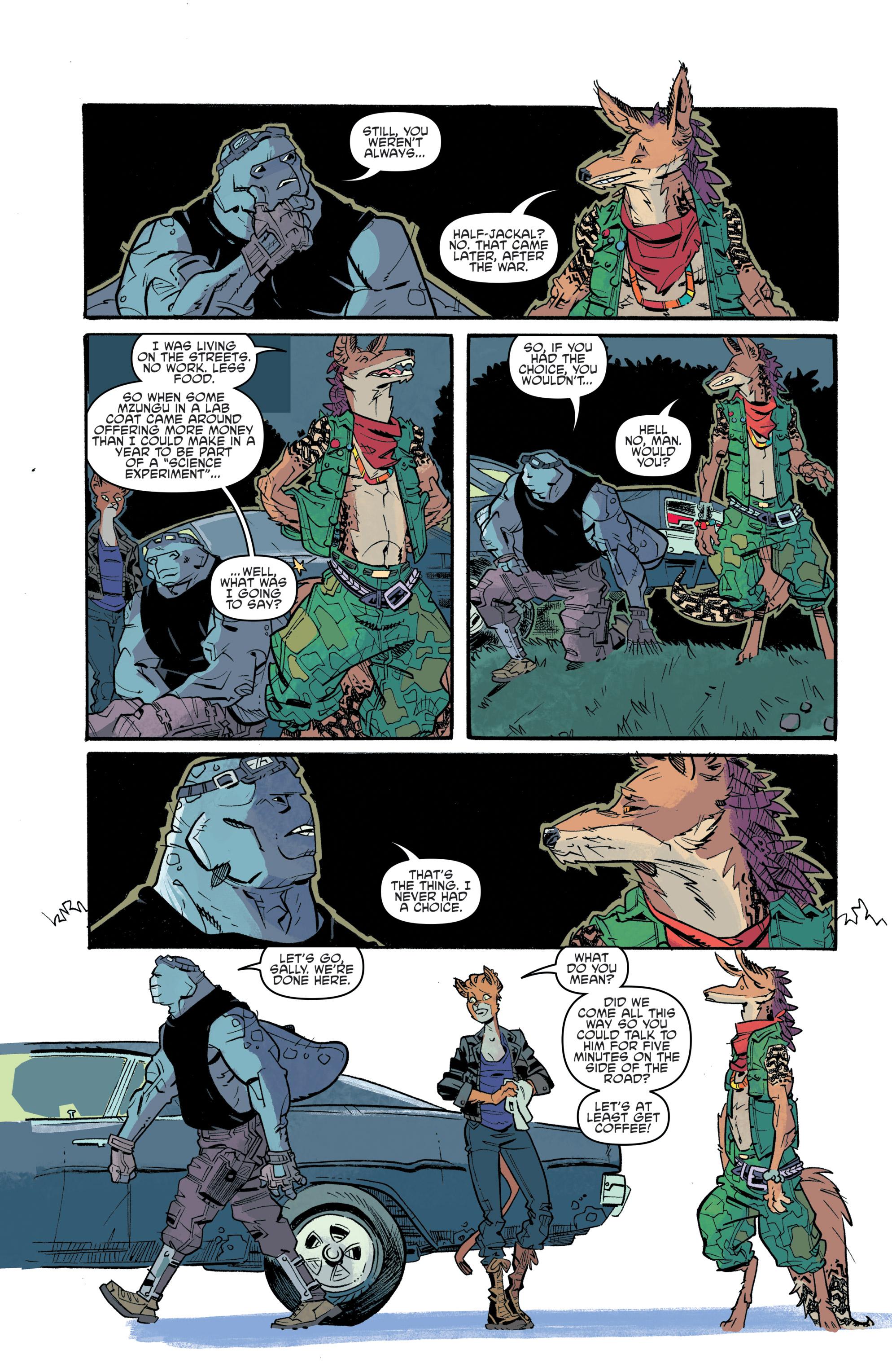 Read online Teenage Mutant Ninja Turtles Universe comic -  Issue #11 - 10