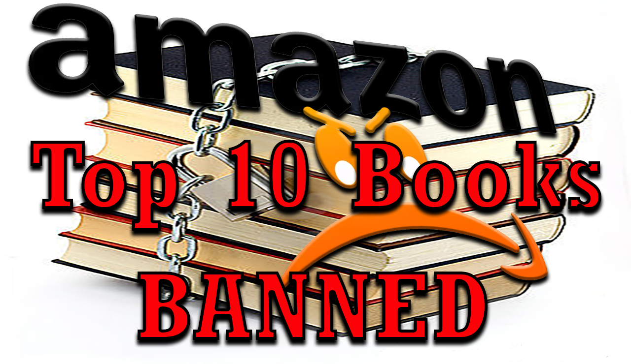 Top 10 Books BANNED by AMAZON, Now Rare $2.5m Book STOLEN