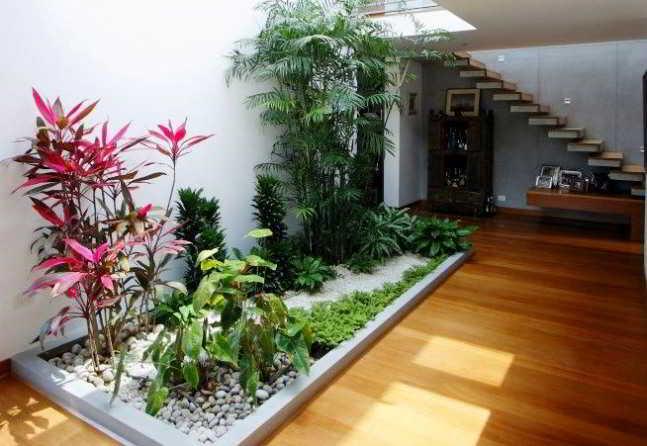 Desain Taman Minimalis Dalam Rumah Sederhana Modern