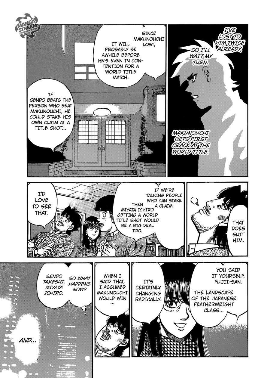 Hajime no Ippo - Chapter 1123