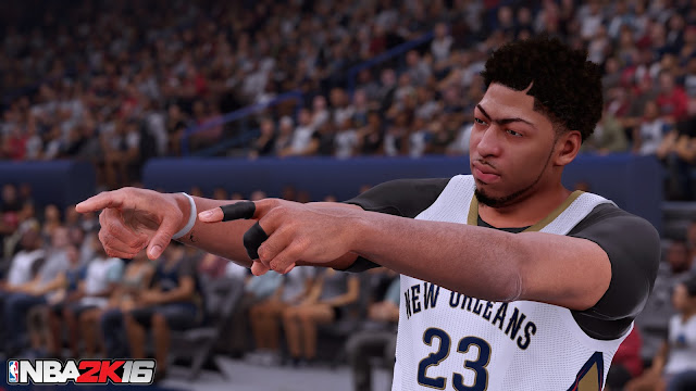 NBA 2K16 Anthony Davis Screenshot