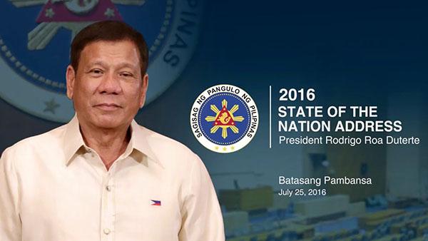 WATCH LIVE: Pres. Duterte SONA 2016