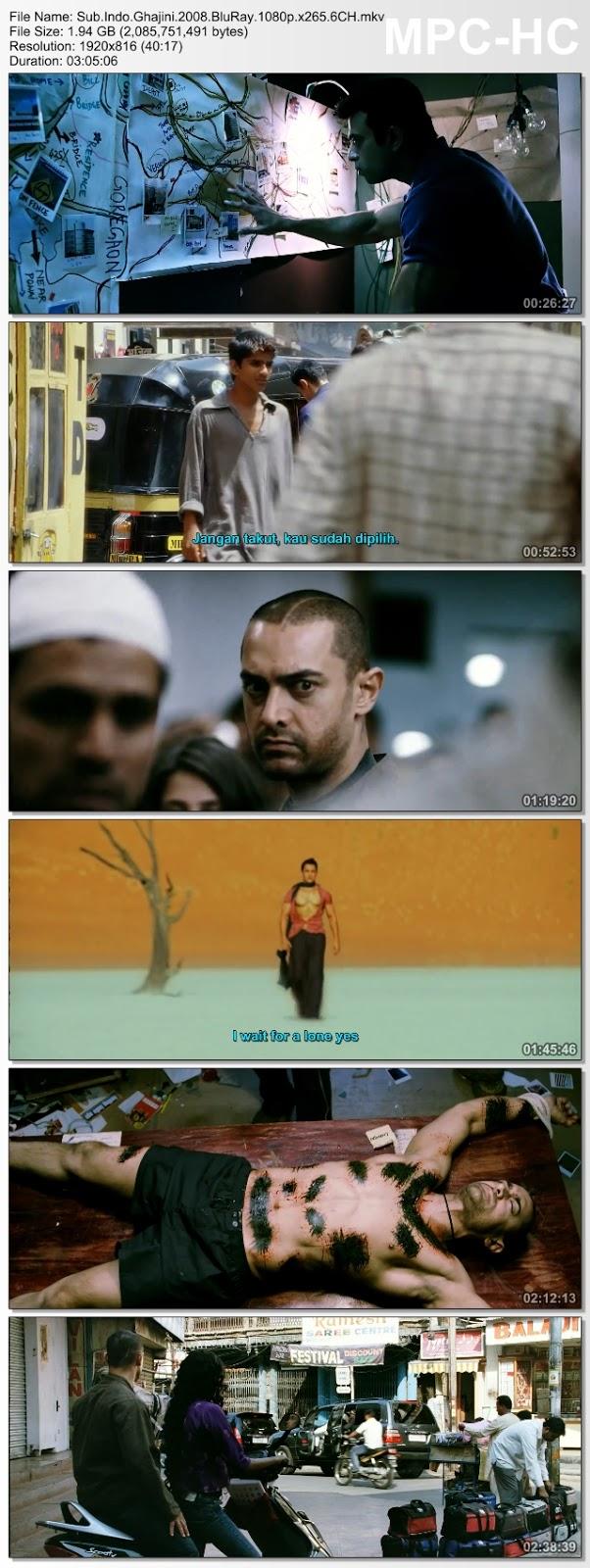 Screenshots Download Гаджини (2008) BluRay 480p & 3GP Subtitle Indonesia