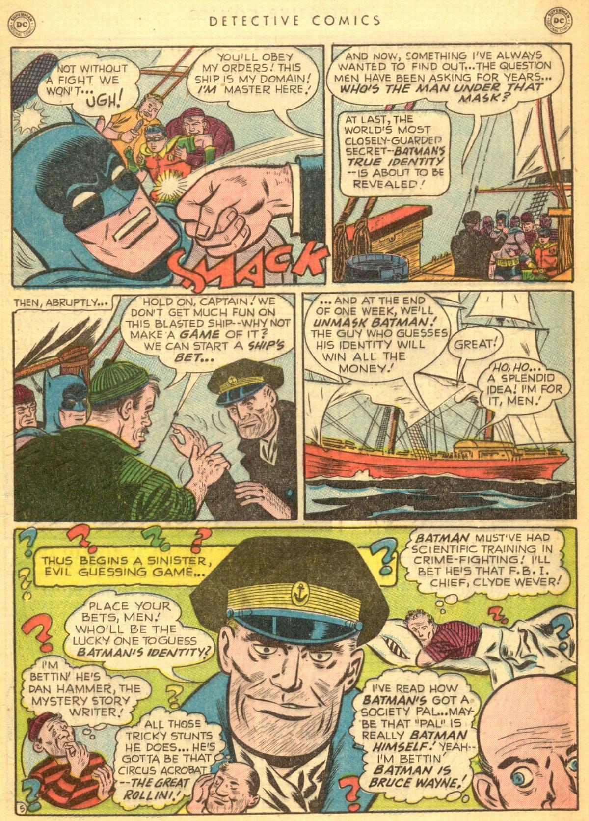 Read online Detective Comics (1937) comic -  Issue #170 - 7