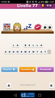 Emoji Quiz soluzione livello 77