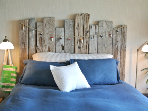 Free DIY Driftwood Bedroom Decor Completely Coastal
