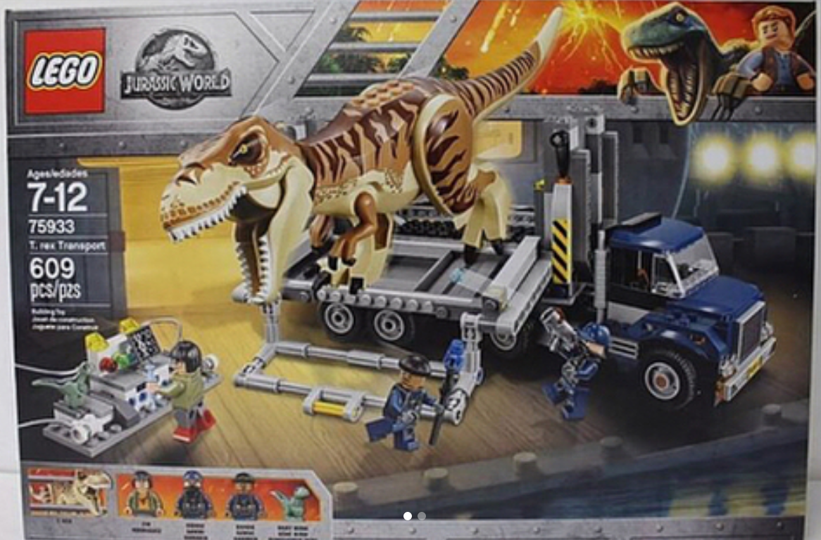 The Set Looks Great And I Am Really Enjoying The New Print On The T Rex.  The Sad Thing Is That Toys R Us Will Only Have It Available Making Its  Availability ...
