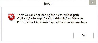 Quickbooks sync manager error  Get Help @ 888-621-8292