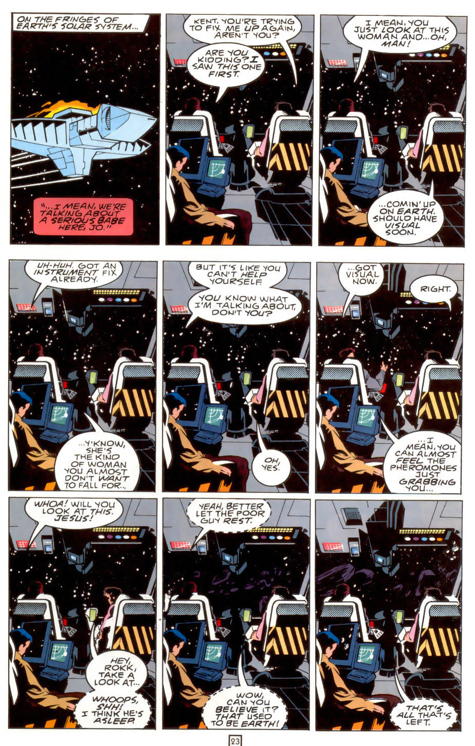Legion of Super-Heroes (1989) 39 Page 23