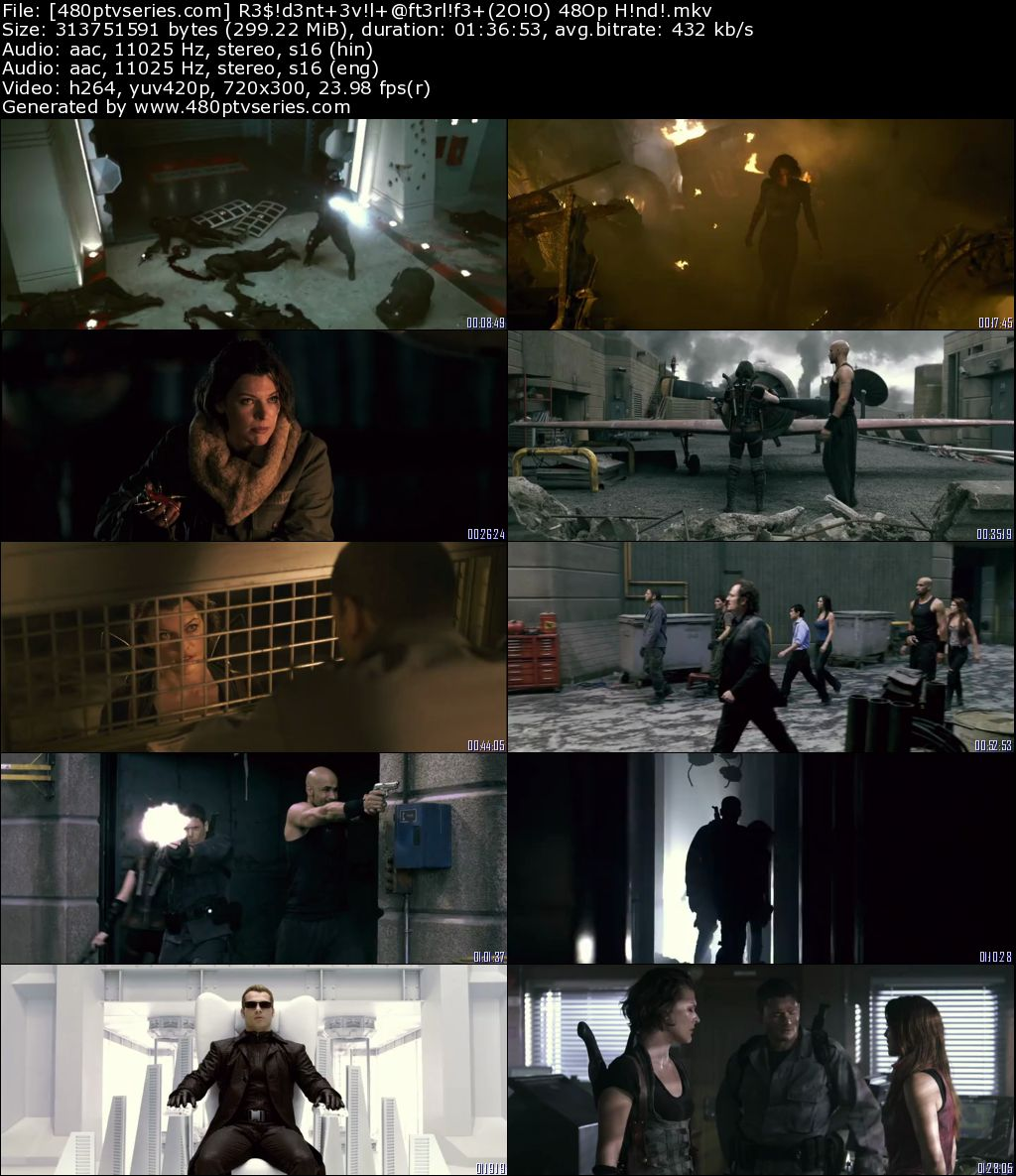 Resident Evil Afterlife (2010) 300MB Full Hindi Dual Audio Movie Download 480p Bluray Free Watch Online Full Movie Download Worldfree4u 9xmovies