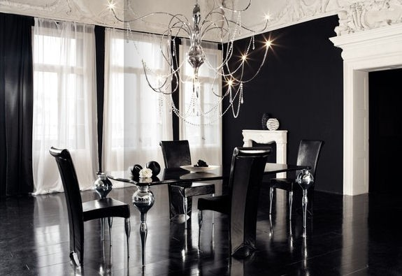 Modern Elegant Dining Room: Modern House: Modern And Luxury Dining Room Design With