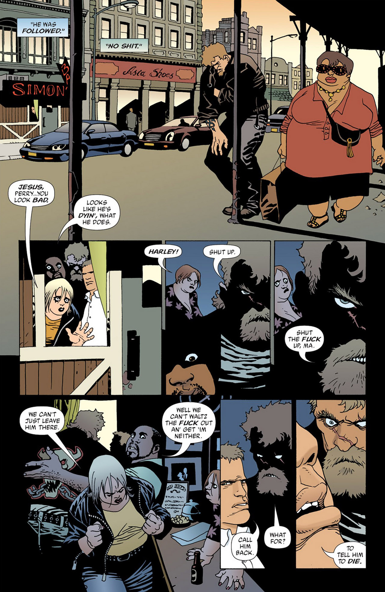 Read online 100 Bullets comic -  Issue #50 - 18