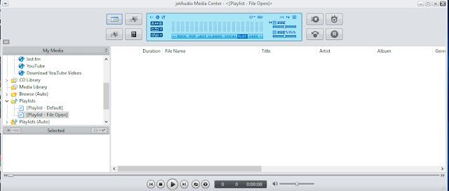 افضل مشغل لتسجيل الملفات الصوتية والقيديو واضافة التاثيرات و تقطيع الاغانى برنامج JetAudio Plus 8.1.7.20702