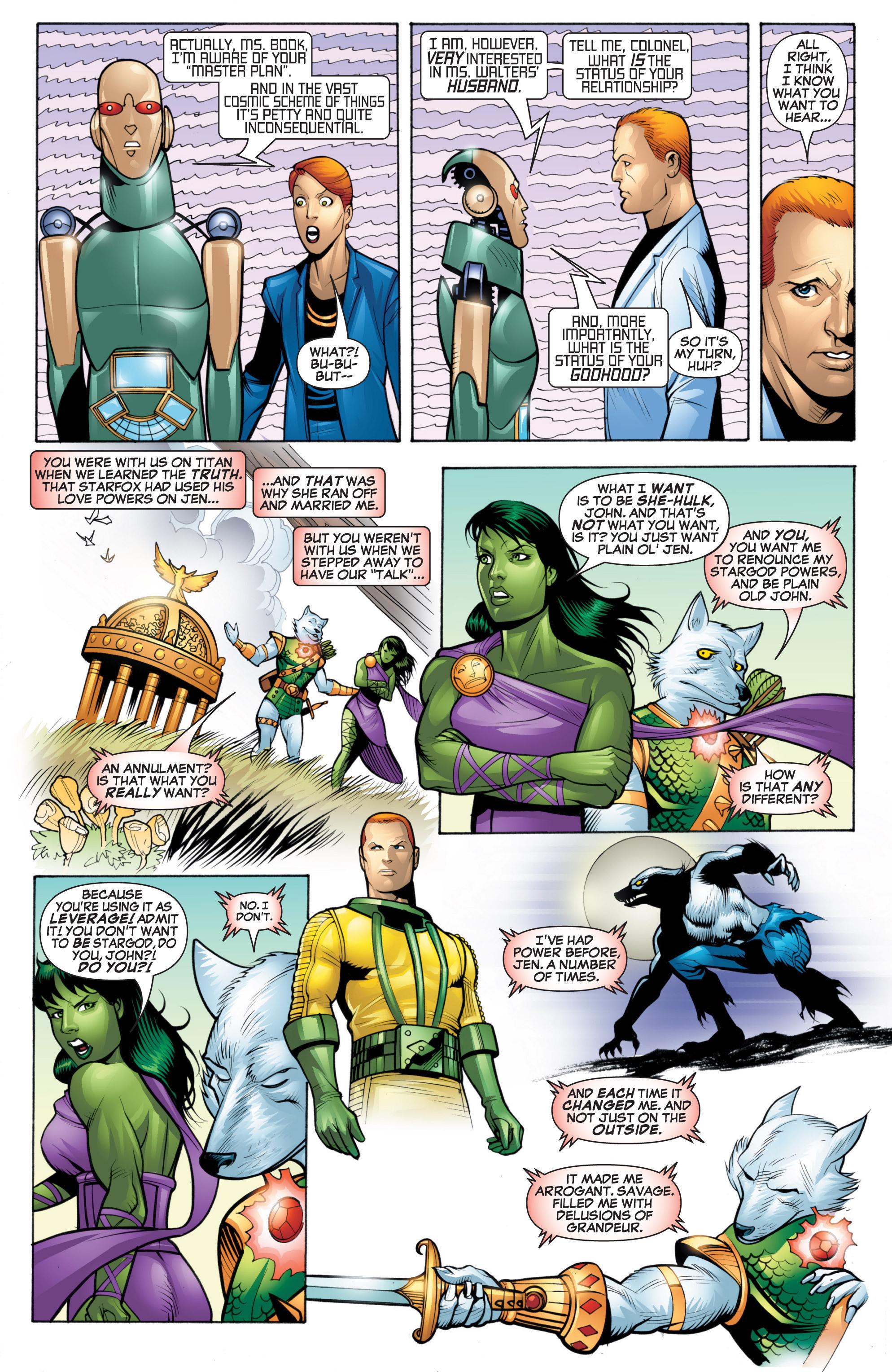 Read online She-Hulk (2005) comic -  Issue #20 - 16
