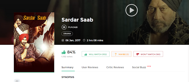 Sardar Saab (2017) Full Punjabi Movie 700mb HD