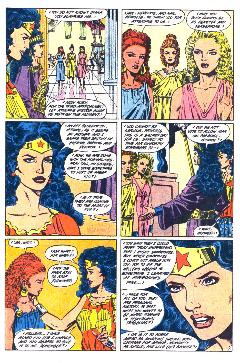 Read online Wonder Woman (1987) comic -  Issue #36 - 7