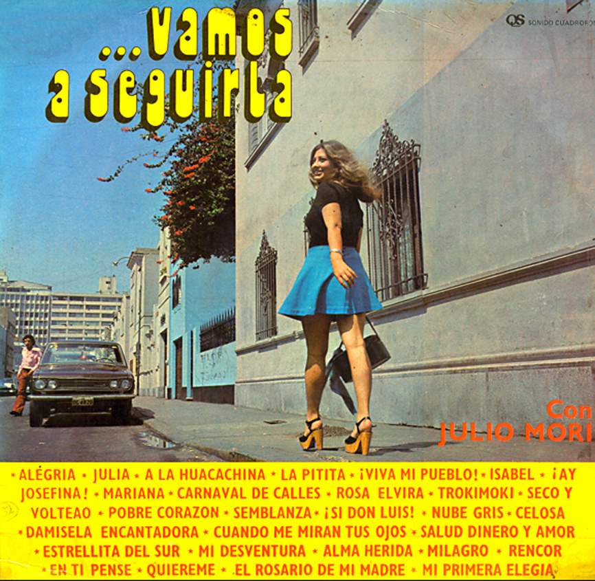 48 Vinyl Album Covers Featuring Women In Mini Skirts