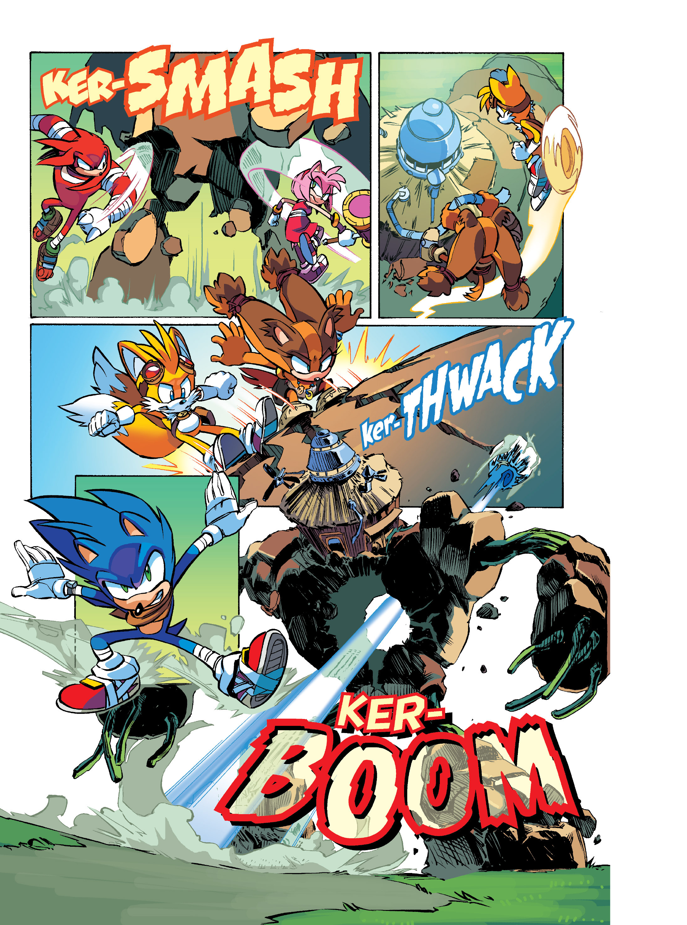 Read online Sonic Super Digest comic -  Issue #10 - 19
