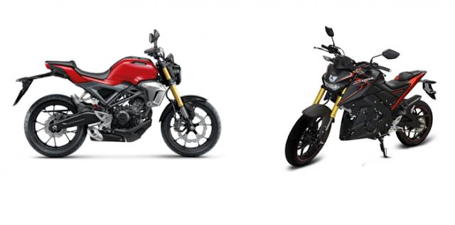Perbandingkan Honda CB150R Exmotion Vs Yamaha Xabre dari Berbagai Sisi