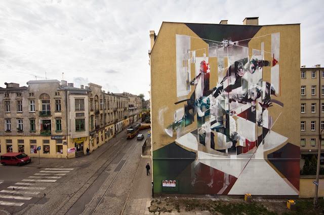 Street Art By Polish Artist Tone For Fundacja Urban Forms 2013 In Lodz, Poland. 1