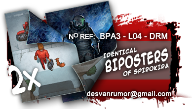 Product nº BPA3-L04-DRM SPIROKIRA 2 BIPOSTERS
