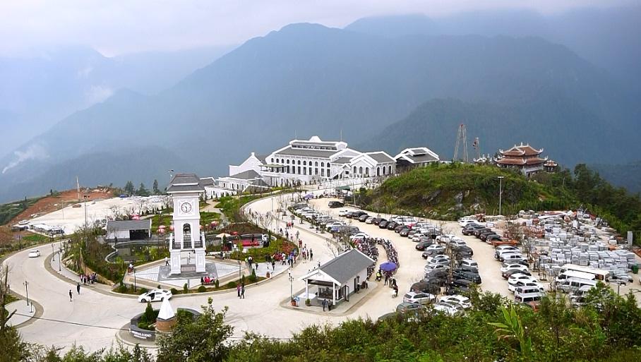 Khám phá toàn cảnh nhà ga cáp treo lên đỉnh Fansipan Sapa