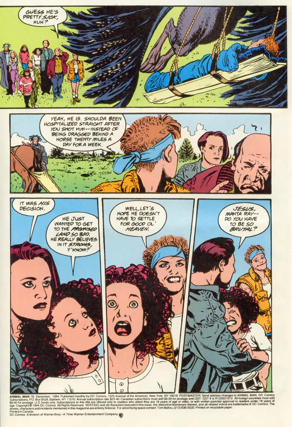 Read online Animal Man (1988) comic -  Issue #78 - 3