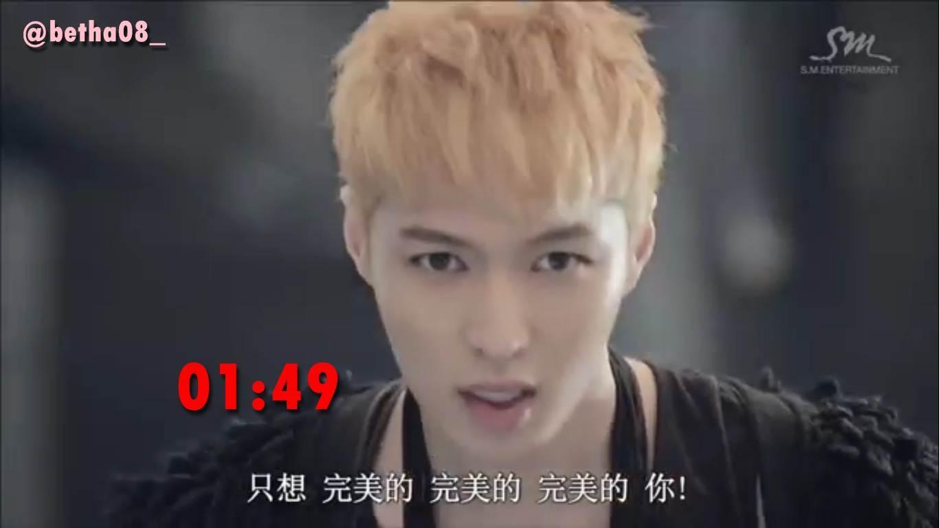 Belzyx Berbagai Ekspresi Di MV Exo Wolf Chinese Ver