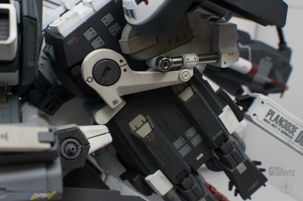 "Custom Build: MG 1/100 Deep Striker ""Crusader Armament"" - Gundam Kits Collection News and Reviews"