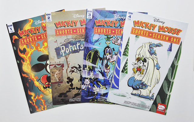 Mickey Mouse Shorts: Season One - regular cover variants