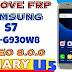 Samsung S7 Oreo U5 Frp Unlock| Samsung S7 Sm-G930w8 Frp bypass 2019
