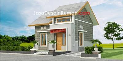 Desain Rumah Indonesia Rumah Batako Type 36