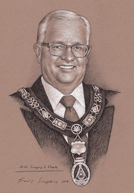 M.W. Gregory L. Clark. Past Grand Master. Grand Lodge of Illinois. Scottish Rite, NMJ. by Travis Simpkins