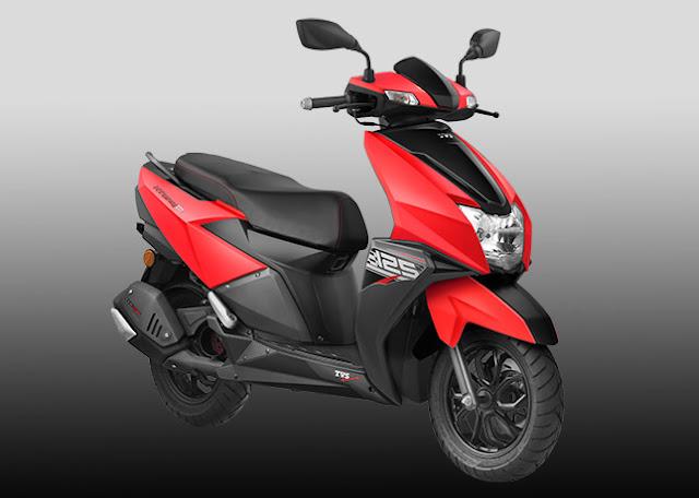 TVS Ntorq 125cc premium scooter