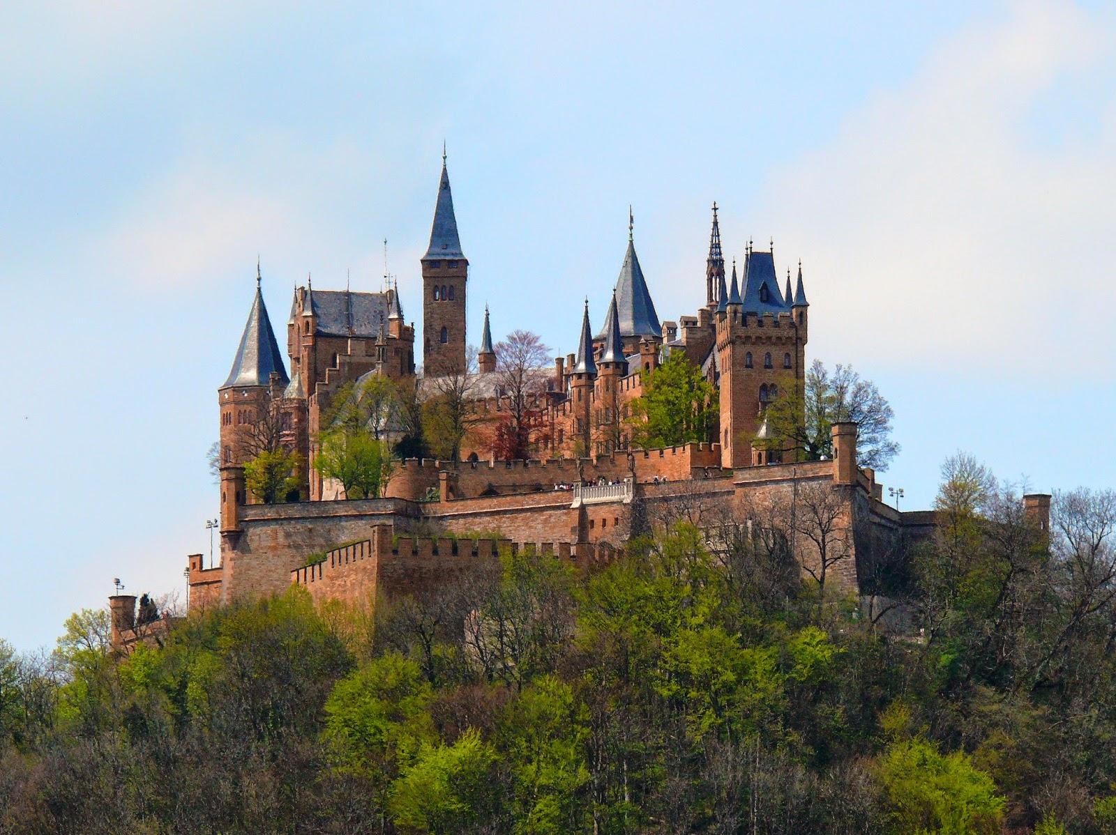 Um Castelo Nas Nuvens O Castelo Hohenzollern