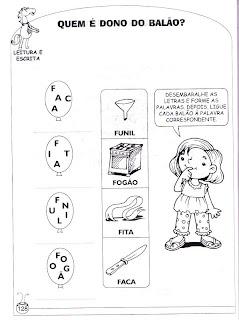 Menina - Atividades de alfabetização e atividades para imprimir 3