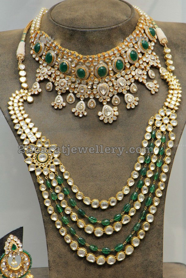 Kundan Necklace Long Chain