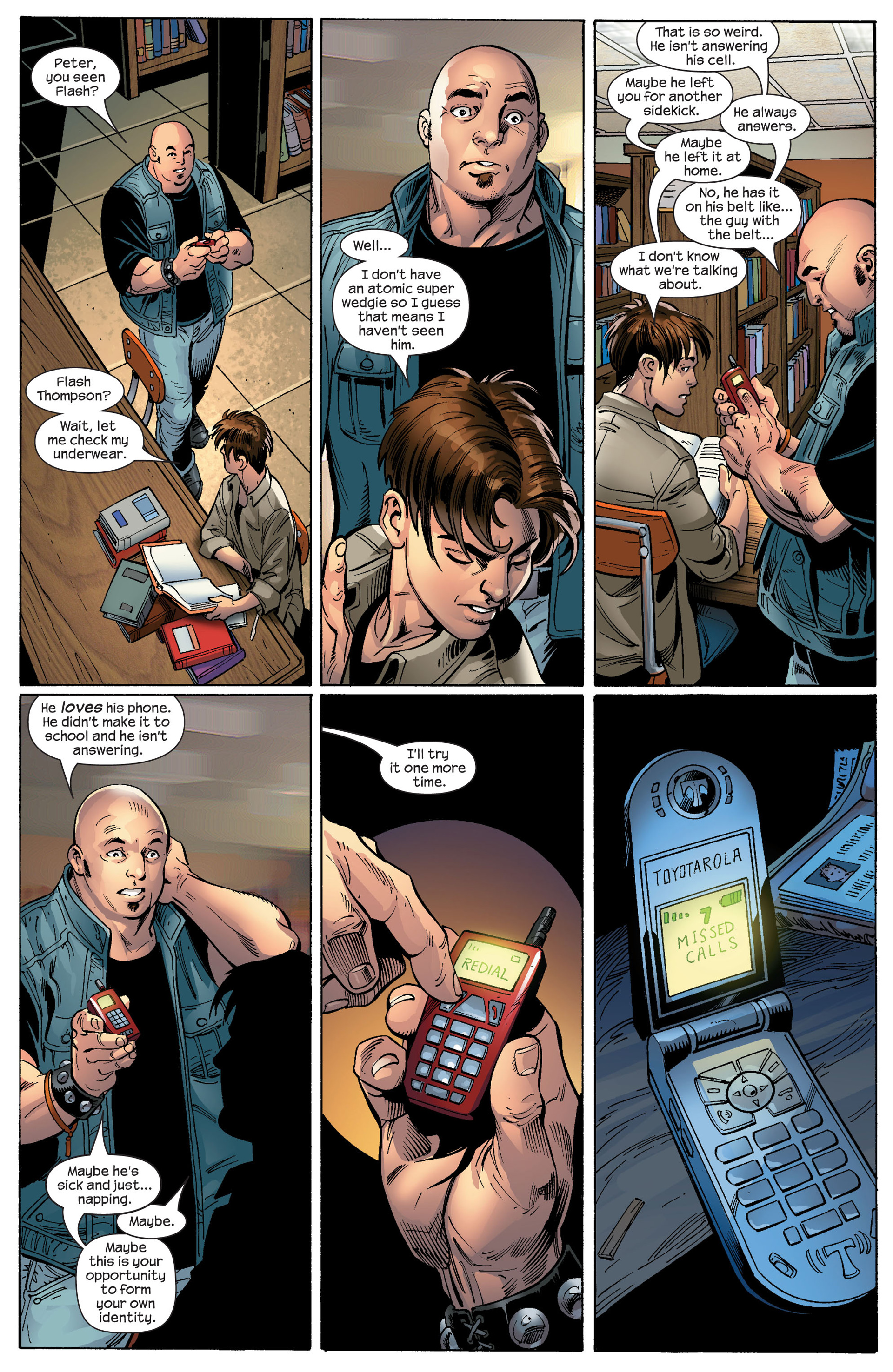 Read online Ultimate Spider-Man (2000) comic -  Issue #87 - 5