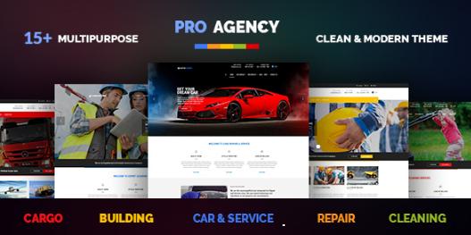 Download Free Pro Agency WordPress Theme v.1.3.3