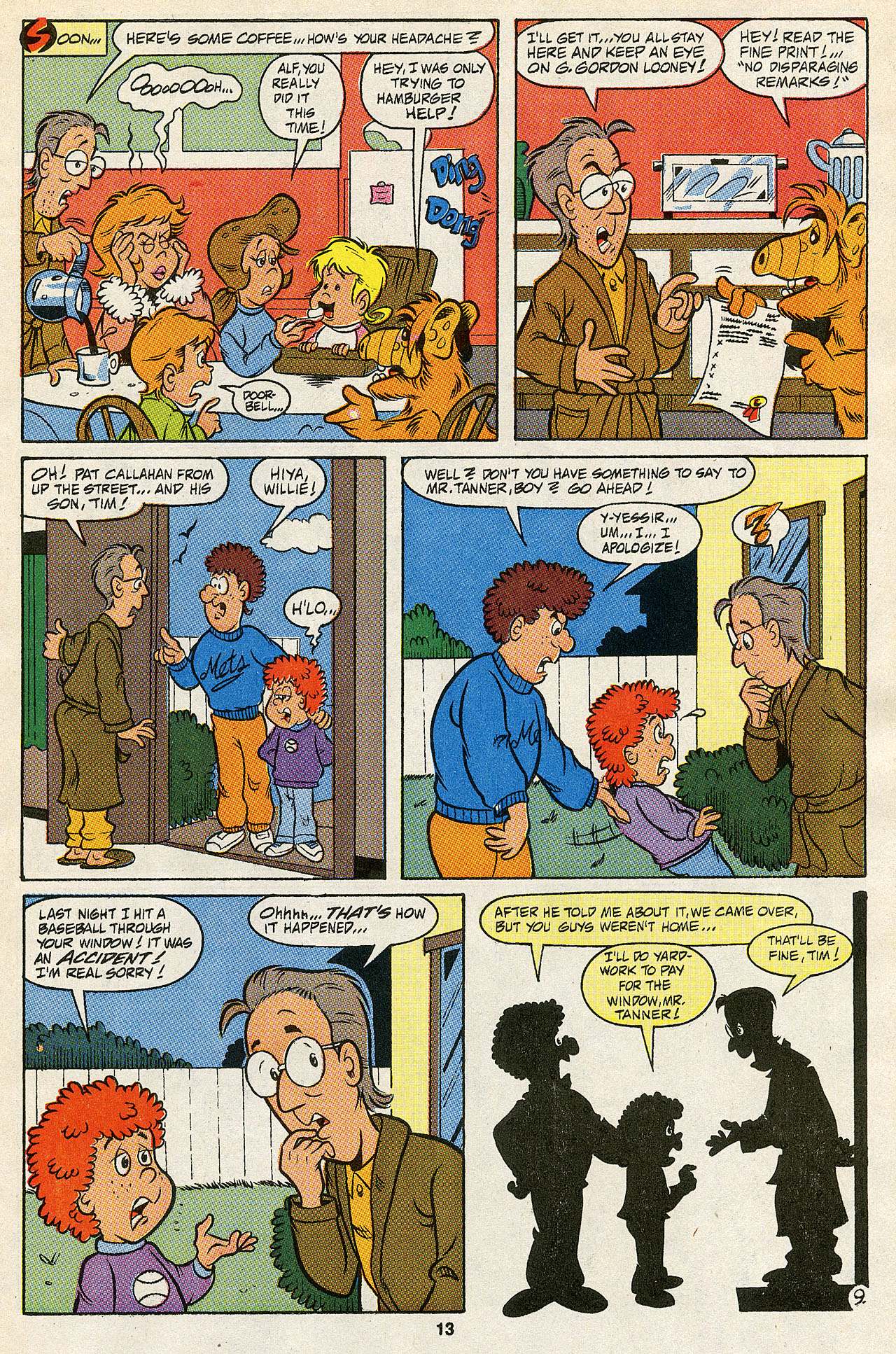 Read online ALF comic -  Issue #43 - 15