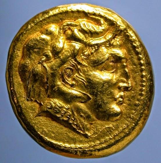 Το μοναδικό χρυσό νόμισμα με πορτραίτο του Μέγα Αλέξανδρου;