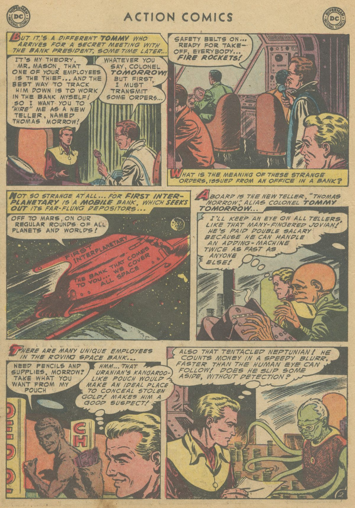 Read online Action Comics (1938) comic -  Issue #199 - 19