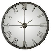 Amelie Oversized 60″ Wall Clock Uttermost 06419