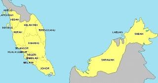 gambar peta malaysia